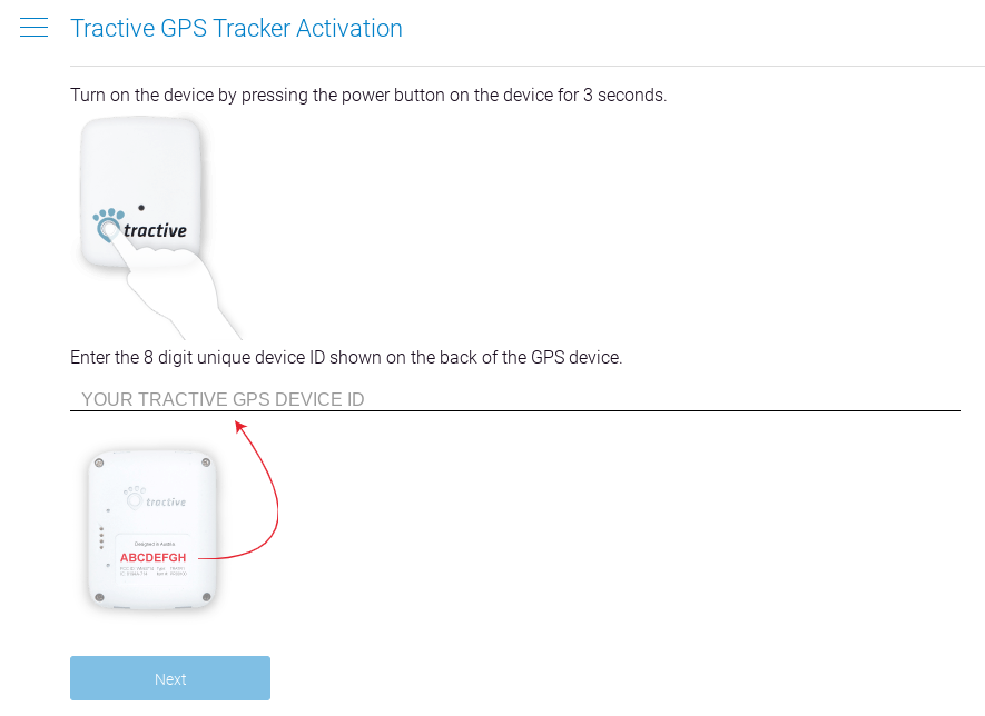 activating your tractive gps tracker how to purchase a monthly